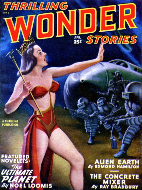 Thrilling Wonder Stories April 1949