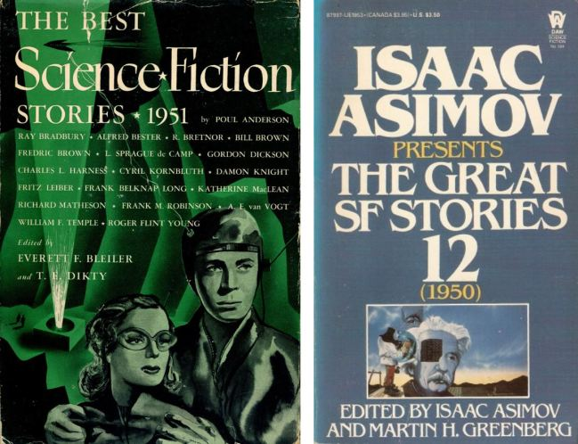 The Years Best Short Science Fiction - 1950