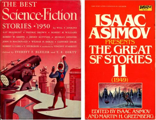 Years Best Short Science Fiction 1949