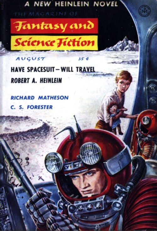 1958-08 The Magazine of Fantasy and Science Fiction Emsh