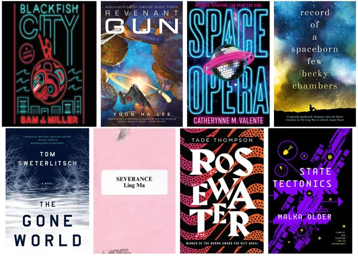2018 SF books