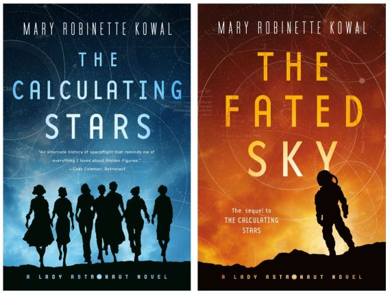The Calculating Stars and The Fated Sky by Mary Robinette Kowal