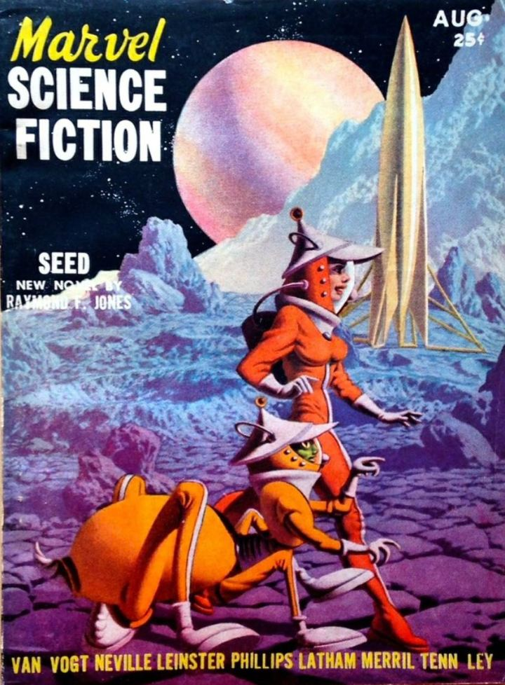 Marvel Science Fiction 1951-08