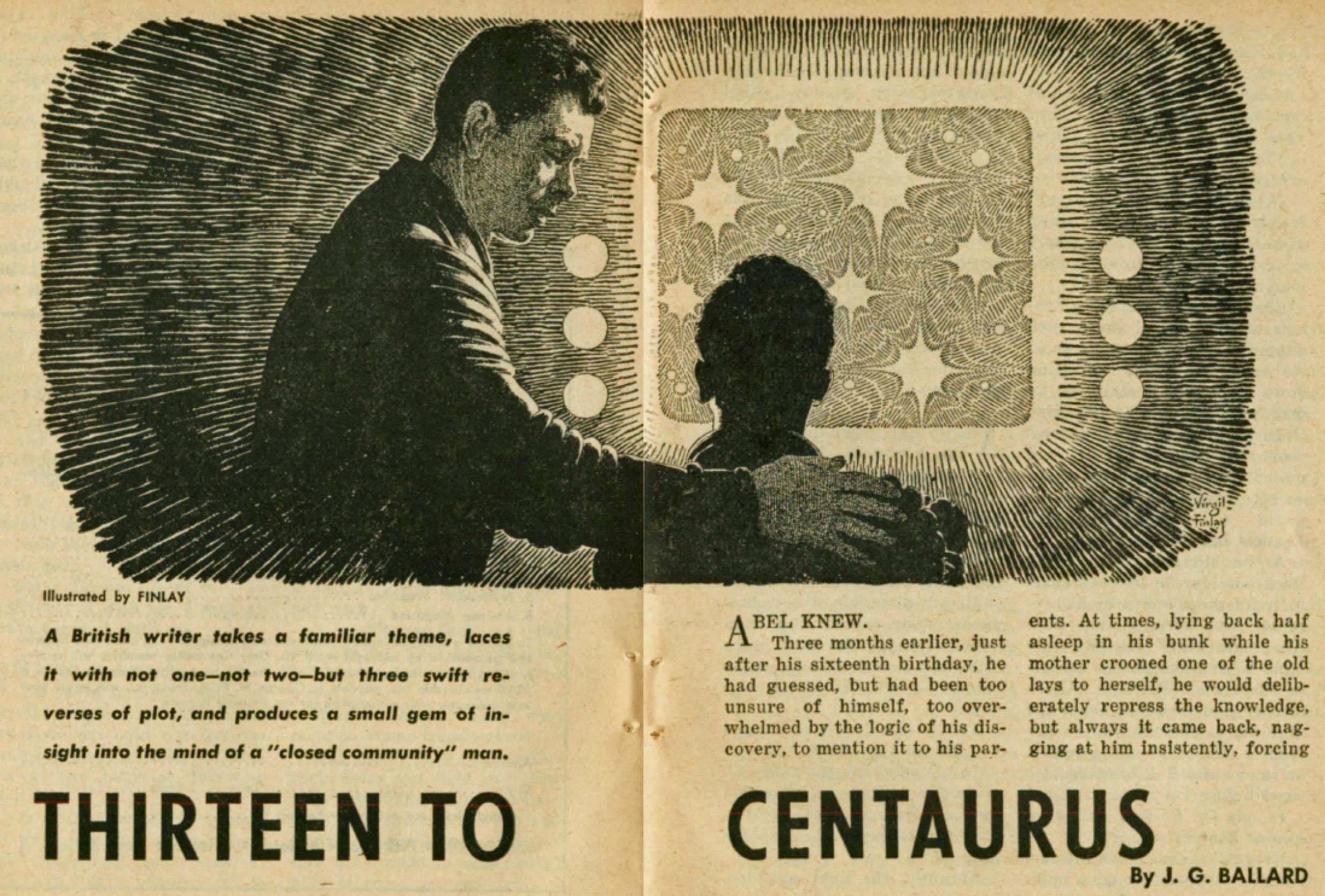 Thirteen to Cenaurus by J. G. Ballard