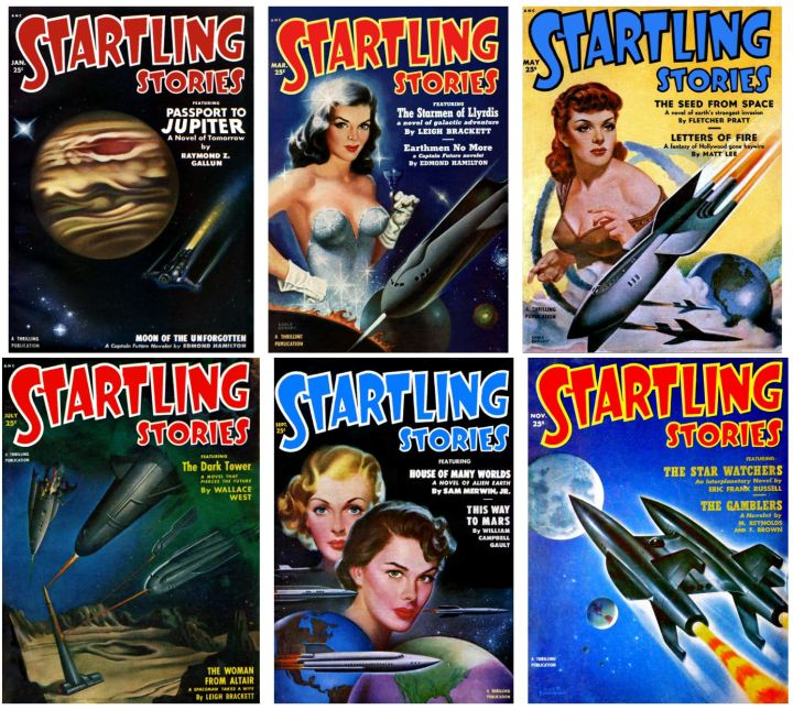 Startling Stories 1951