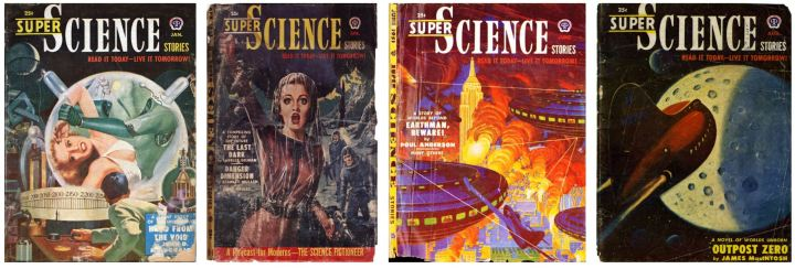 Super Science Stories 1951