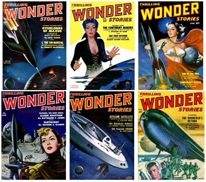 Thrilling Wonder Stories 1951