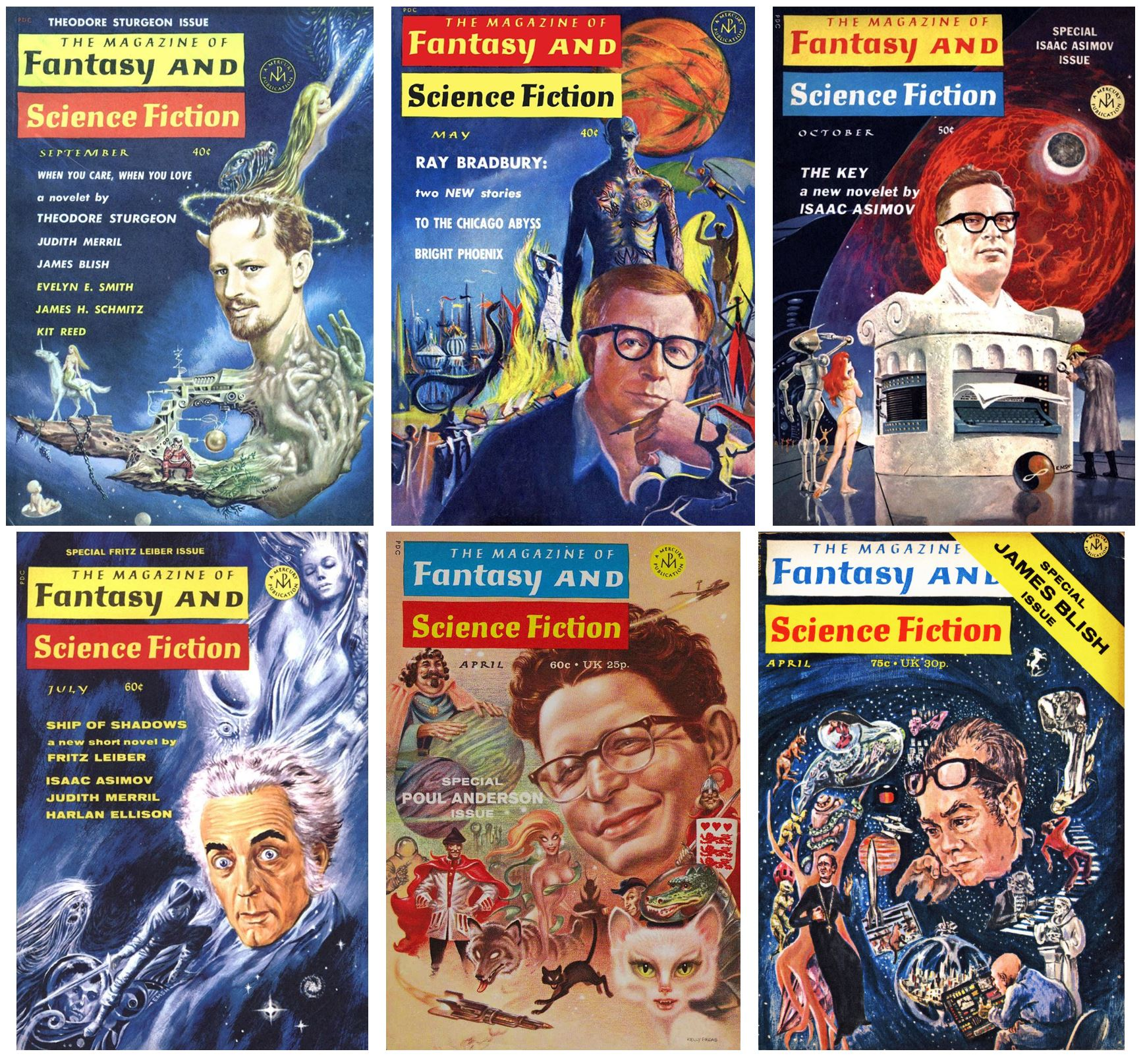 F&SF25 Special Issues
